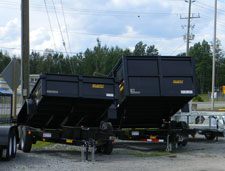 Picture of dump trailers